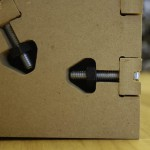 """T-bolt connection using CNC-routed 1/2"""" MDF"""