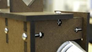 T-Bolt connection using laser-cut panels